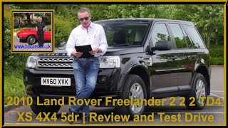Review and Virtual Video Test Drive in our 2010 Land Rover Freelander 2 2 2 TD4 XS 4X4 5dr MV60XVK