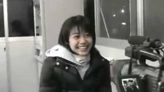 半田杏Jr時代のドラマ撮影オフショット