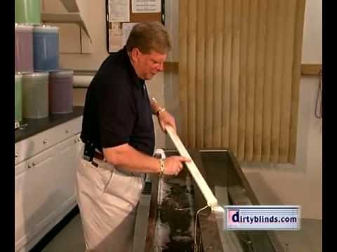 Dirtyblinds.com Ultrasonic Blind Cleaning Promo Video