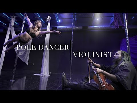 Pole Dancer and Violinist Collide Worlds To Collaborate