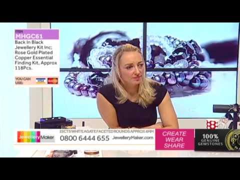 How To make Gemstone Jewellery - JewelleryMaker LIVE (AM) 22/10/2014