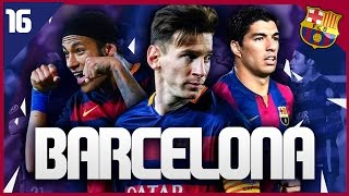 Fifa 16 career mode: fc barcelona #16 - spanish cup semi final vs real madrid!!