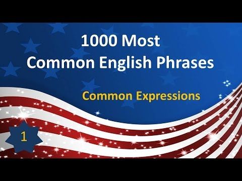 Most common idioms in english list