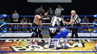 L.A. PARK Y L.A. PARK JR. VS DIAMANTE AZUL Y MR. NIEBLA thumbnail