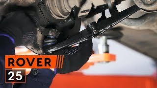 rear and front Motor mount installation ROVER 25: video manual