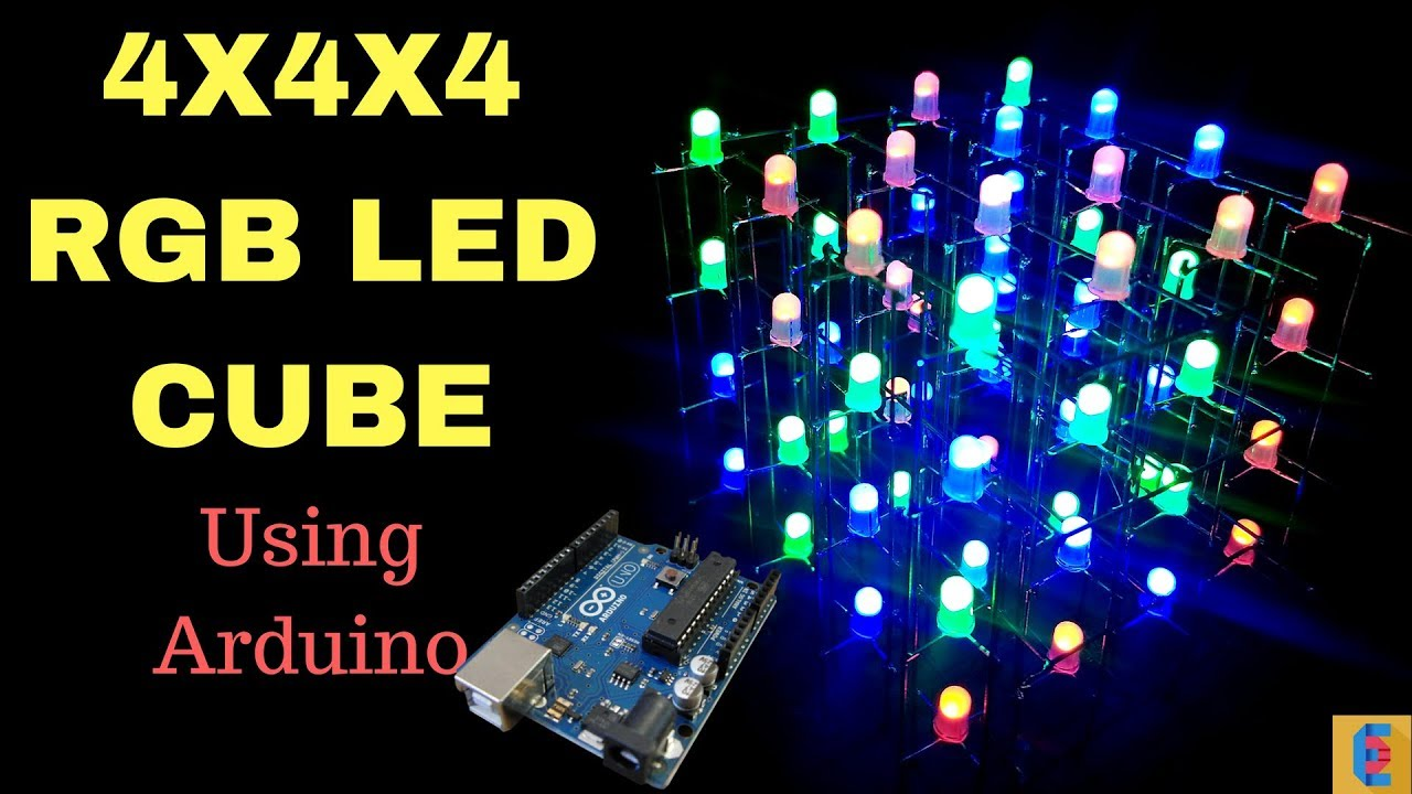 small resolution of  arduino rgbledcube electronics