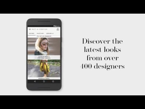 Net-A-Porter Android app