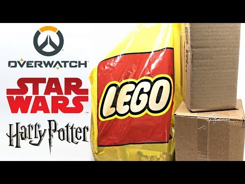 LEGO Store Haul and Mystery Unboxing - New Fall 2018 sets!