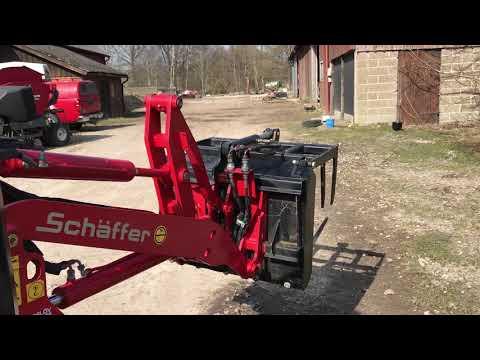 Video Statkový nakladač Schäffer 2020