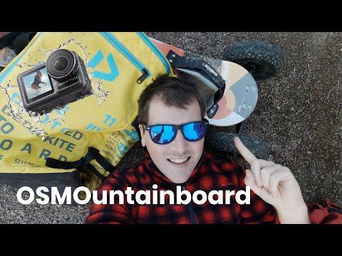 Test DJI OSMO ACTION Et Kite Mountainboard