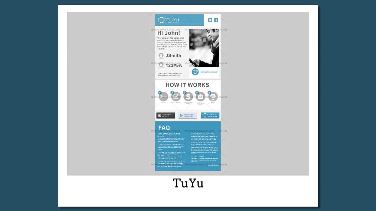 Custom Email Template Design Portfolio :- Spark Email Design - YouTube