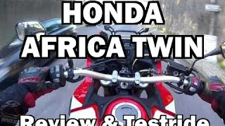 Honda Africa Twin Review & Testride