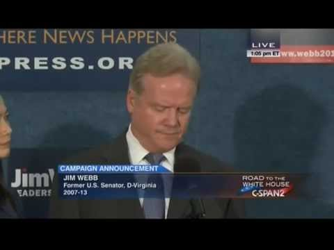 Jim Webb drops out of Democratic race, will potentially run as independent