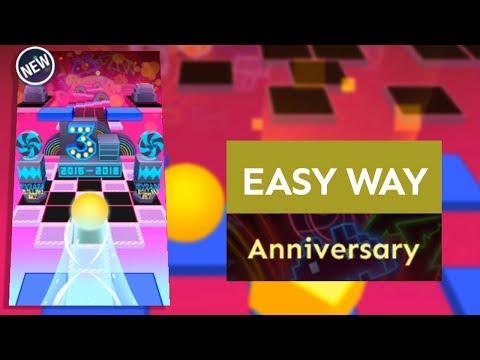 Rolling Sky Anniversary (Easy way) | SHAvibe