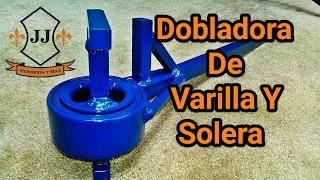 TUTORIAL - Dobladora De Varilla Y Solera