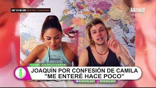 """""""Me enteré hace poco"""": Joaquín Méndez sobre confesión de Camila Recabarren"""