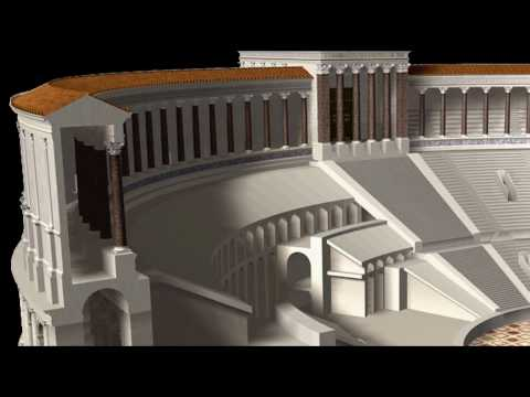 Ancient Rome: Theatre of Pompey HD