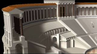 Ancient Rome: Theatre of Pompey HD thumbnail