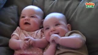 Hài hước với trẻ em   Tiếng em bé cười sáng khoái