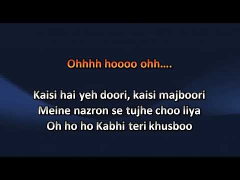 Tujh Mein Rab Dikhta Hai Song Karaoke With Lyrics