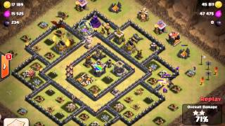 Clash of Clans: Clutch Golem Split & Clan War Battles!