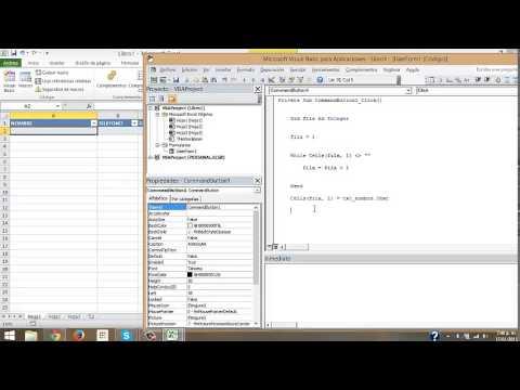 Ingresar datos a Excel mediante un formulario de VBA