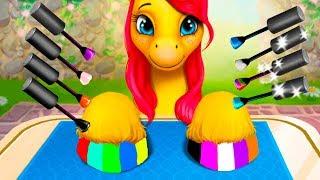 ПРИЧЕСКА ЧЕЛЛЕНДЖ #5 Май литл пони или Мои Маленькие Пони в детской игре с Кидом