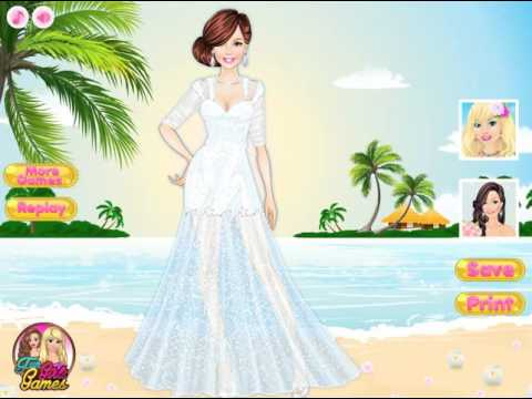 Мультик игра Одевалка: Свадьба на острове (Island Wedding Dress Up)