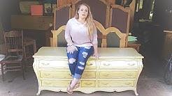 Furniture Makeover... French Provincial Dresser