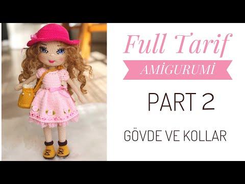 How to Crochet a Basic Doll (avec images) | Modèles de jouets au ... | 360x480