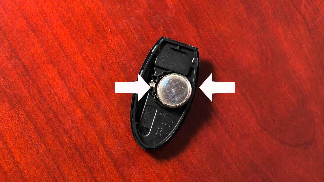 2017 Nissan 370z Intelligent Key Remote Battery Replacement If So Equipped