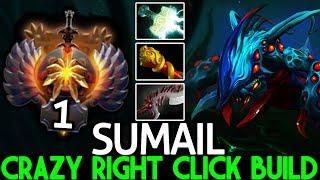 SUMAIL [Weaver] Crazy Right Click 24 Kills No Mercy 7.23 Dota 2