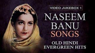 Naseem Banu Songs - Jukebox 1 - Old Hindi Evergreen hits