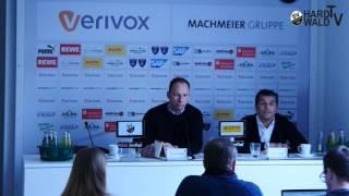 20 spieltag   pressekonferenz vor dem spiel vfb stuttgart sv sandhausen
