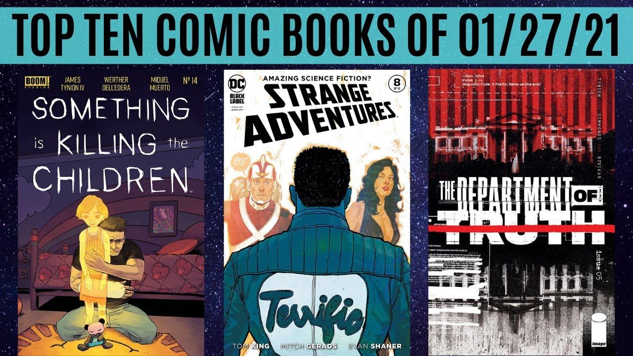 Top 10 Comic Books of 01/27/21
