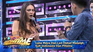 Luna Maya Dan Leo Debat Masalah Suit Indonesia Dan Filipina - It's Show Time (10/4)