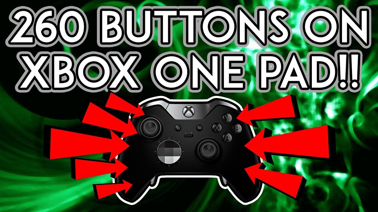 260 Buttons On Xbox One Controller!! | ReWASD Tool