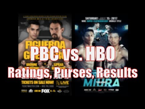 PBC vs HBO: Ratings, Purses and Results