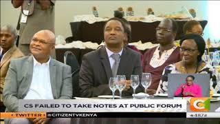 Uhuru shames 'idling' CSs