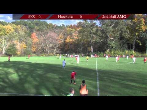 South Kent School Prep Soccer vs Hotchkiss at South Kent School