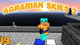 minecraft mods agrarian skies 2 hammer time e13 modded skyblock