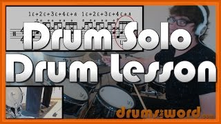 ★ Figure It Out (Royal Blood) ★ FREE Drum Lesson | How To Play Drum SOLO (Ben Thatcher)