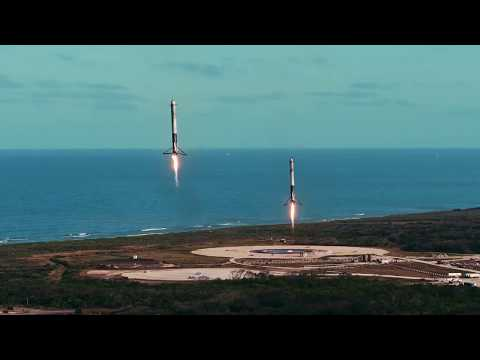 Elon Musk Rocket Video At 'WestWorld' Panel!