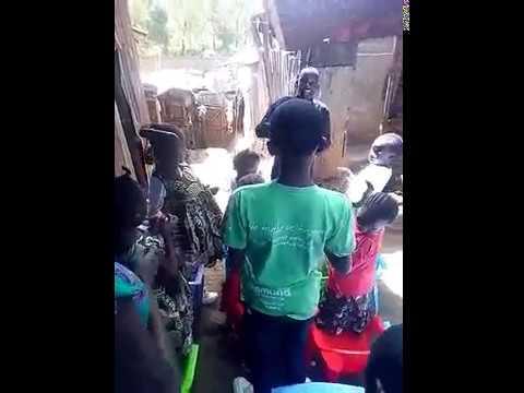 William Leading Children's Worship Kibera Slum Fellowship 1-27-2019