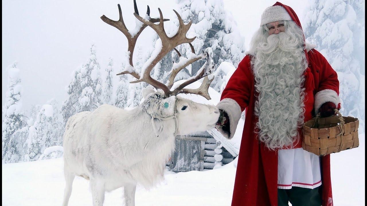 Lapponia Casa Di Babbo Natale Video.Partenza Di Babbo Natale Video Per I Bambini Lapponia Finlandia Rovaniemi Santa Claus Villaggio
