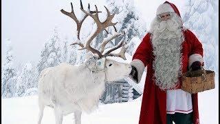 Partenza di Babbo Natale: video per i bambini - Lapponia Finlandia Rovaniemi Santa Claus Villaggio
