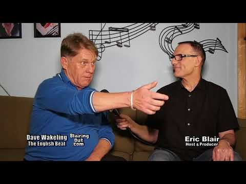 The English Beat Dave Wakeling & Eric Blair talk his career in music 2018