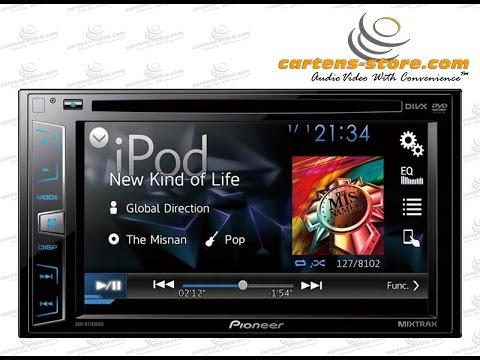 PRODUK Audio Mobil Pioneer AVH-X1750DVD Tersedia Di Cartens® Store.com Jakarta