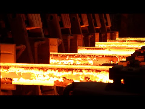 Steel Factory, Steel Production, Steel Making Process, How it's Made