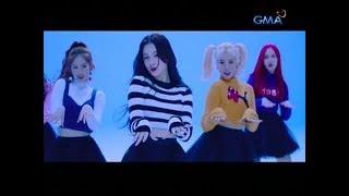 """K-pop group na """"Momoland"""" na nasa Pilipinas ngayon, eksklusibong naka-bonding ng GMA news"""